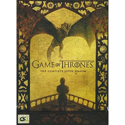 Game Of Thrones The Complete 5th Season Region 3 David Nutter 5 Discs