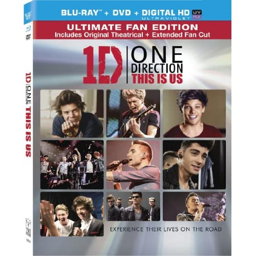 One Direction: This Is US Two Disc Combo: / DVD On Blu-Ray With Niall Horan 2