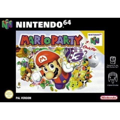 Mario Party For N64 Nintendo Action