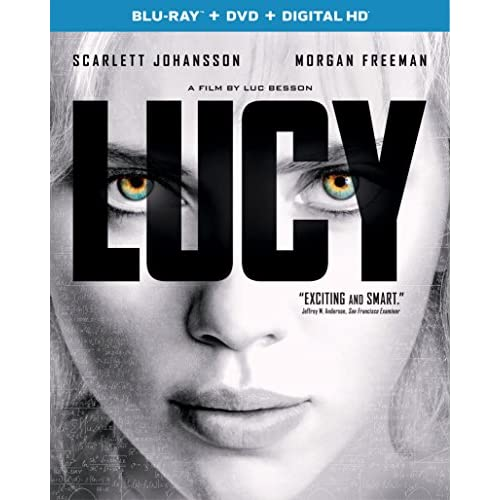 Image 0 of Lucy Blu-Ray On Blu-Ray With Scarlett Johansson