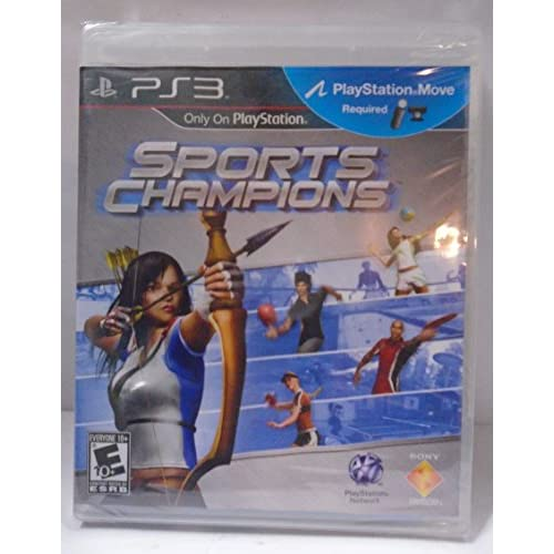 PS3 PlayStation 3 Sports Champions With Manual and Case
