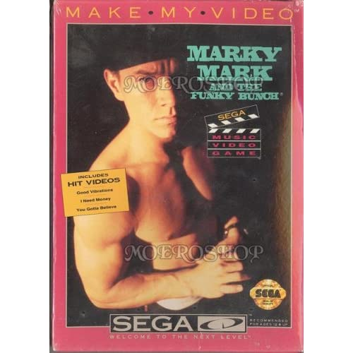 Make My Video Marky Mark And The Funky Bunch For Sega CD Music