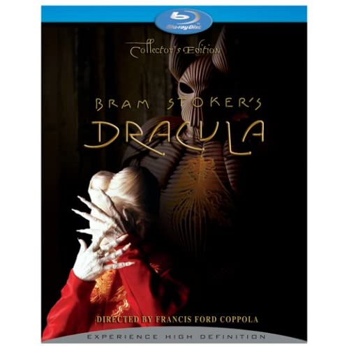 Bram Stoker's Dracula Blu-Ray On Blu-Ray With Gary Oldman Horror
