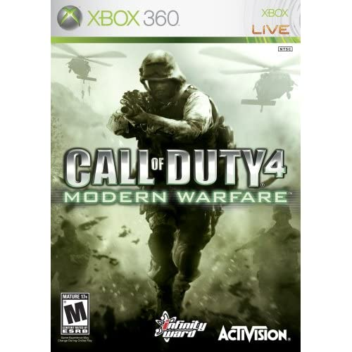 Call Of Duty 4: Modern Warfare For Xbox 360 COD Shooter