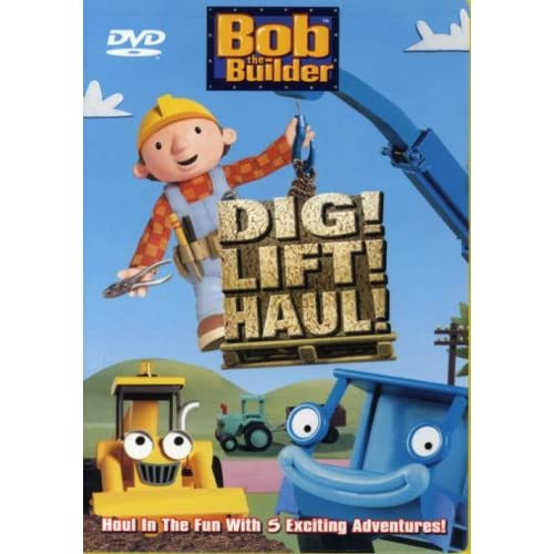 Image 0 of Bob The Builder Dig Lift Haul On DVD with Neil Morrissey