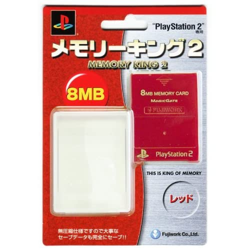 Image 0 of Fugiwork Memory Card For PlayStation 2 PS2 Expansion QTU492