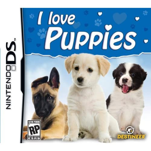 Image 0 of I Love Puppies For Nintendo DS DSi 3DS 2DS