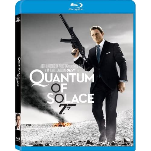 Image 0 of Quantum Of Solace Blu-Ray On Blu-Ray With Daniel Craig