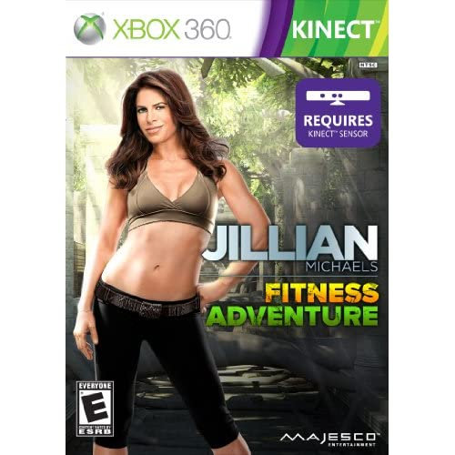 Image 0 of Jillian Michaels Fitness Adventure For Xbox 360 With Manual and Case
