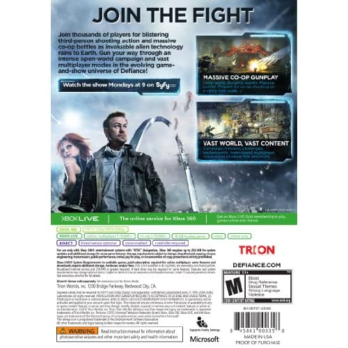 Image 3 of Defiance For Xbox 360 Shooter