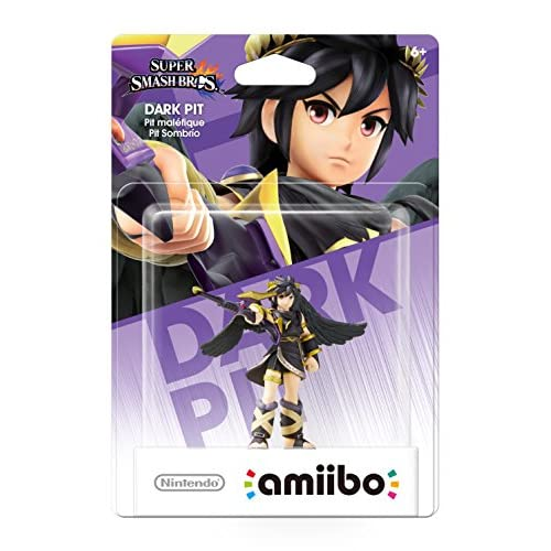 Nintendo Dark Pit Amiibo For Wii U Figure Console Character