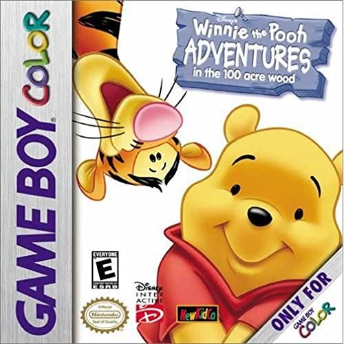 Winnie The Pooh: Adventures In The 100 Acre Woods On Gameboy Color