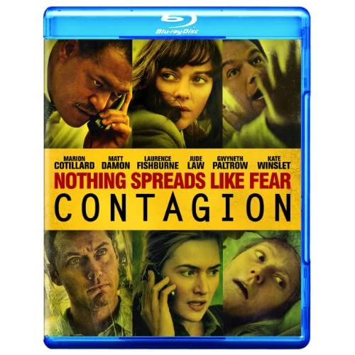 Image 0 of Contagion Movie-Only Edition Blu-Ray With Marion Cotillard