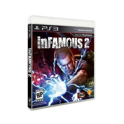 Image 0 of New Sony PlayStation Infamous 2 PS3 Video Games Software High Quality Excellent