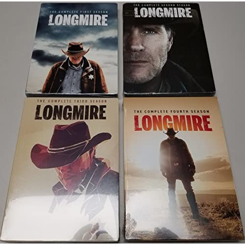 Longmire: Complete Series 1-4 Bundle Collection On DVD