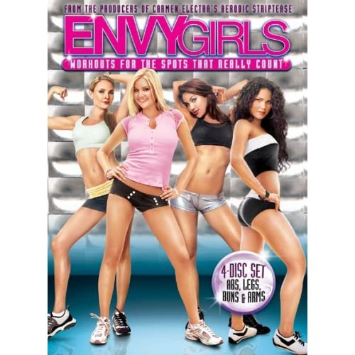 Envy Girls Workouts For The Spots That Really Count On DVD With Envy
