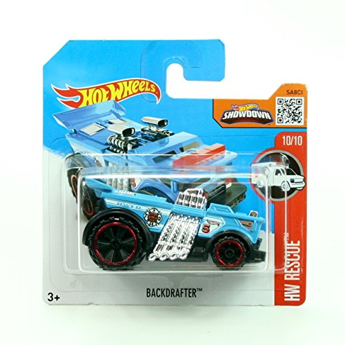 Backdrafter 220/250 Short Card Package Hot Wheels 2016 Hw Rescue Series 10/10 1: