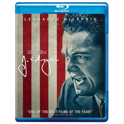 J Edgar Blu-Ray On Blu-Ray With Leonardo Dicaprio Drama