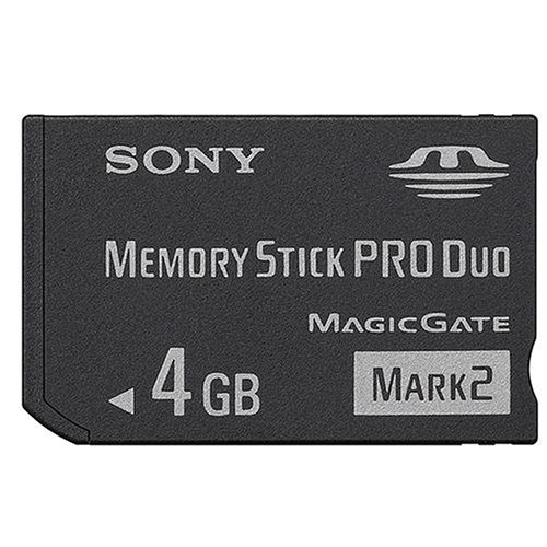 4GB Memory Stick Pro Duo Mark 2