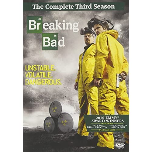Image 0 of Breaking Bad Season 03 4 Discs On DVD With Bryan Cranston TV Shows