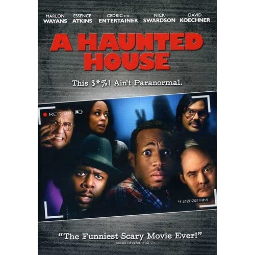 Image 0 of A Haunted House On DVD With Marlon Wayans  Comedy
