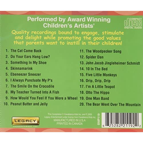 Image 2 of Toddlers' Silly Songs By Various On Audio CD Album 2011