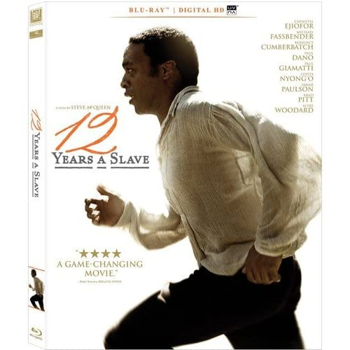 12 Years A Slave Blu-Ray On Blu-Ray With Chiwetel Ejiofor Drama