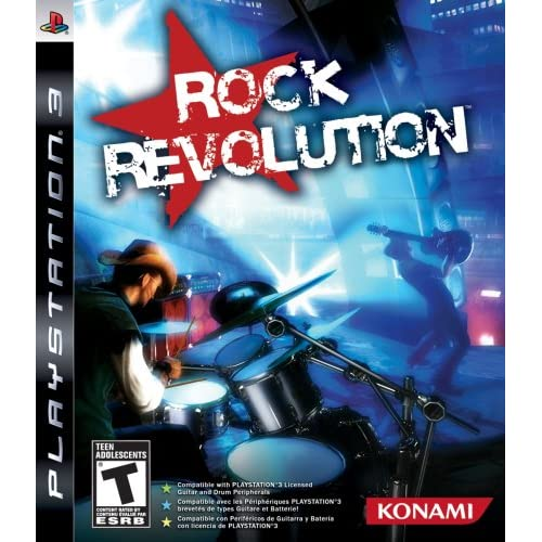 Image 0 of Rock Revolution Game For PlayStation 3 PS3 Music