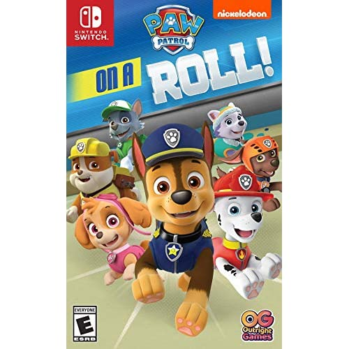 Image 0 of Paw Patrol On A Roll For Nintendo Switch