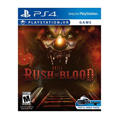 Until Dawn: Rush Of Blood PlayStation VR For PlayStation 4 PS4