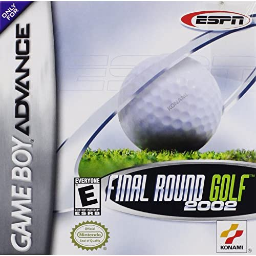 ESPN Final Round Golf 2002 Game Boy Advance For GBA Gameboy Advance