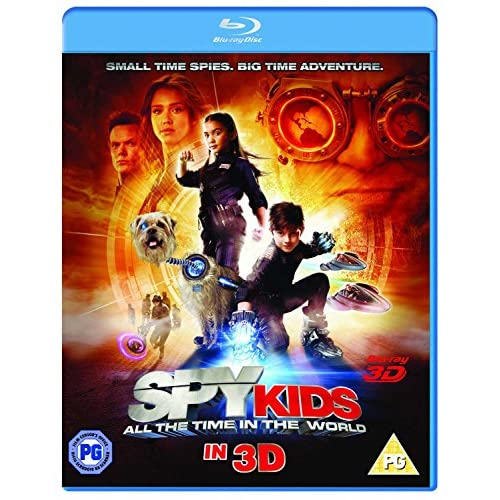 Image 0 of Spy Kids 4: All The Time In The World Blu-Ray 3D On Blu-Ray