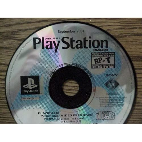 Image 0 of PlayStation Magazine Demo Disc September 2001 For PlayStation 1 PS1