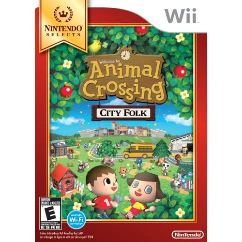 Animal Crossing: City Folk Nintendo Selects For Wii