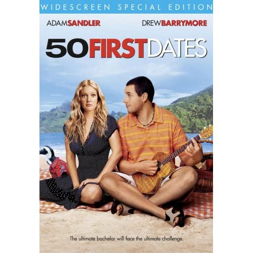 50 First Dates Widescreen Special Edition On DVD With Adam Sandler