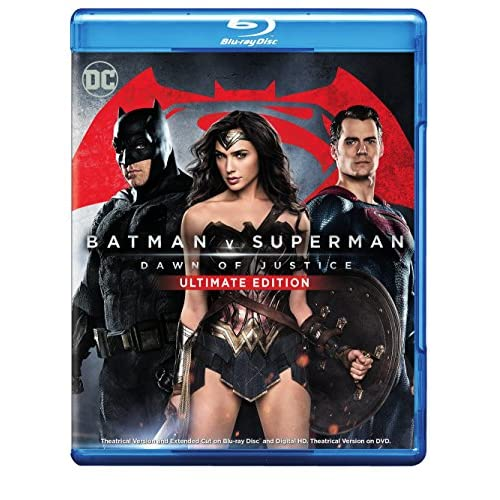 Batman V Superman: Dawn Of Justice Ultimate Edition Blu-Ray On Blu-Ray With Ben