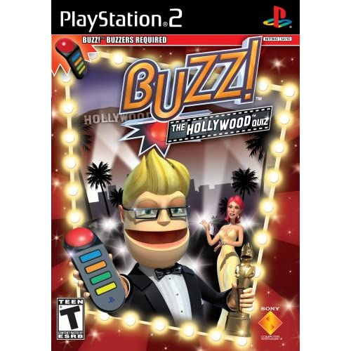 Image 0 of Buzz: The Hollywood Quiz Stand Alone For PlayStation 2 PS2 Trivia