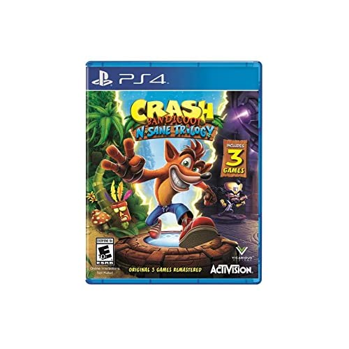 Crash Bandicoot N Sane Trilogy Standard Edition For PlayStation 4 PS4