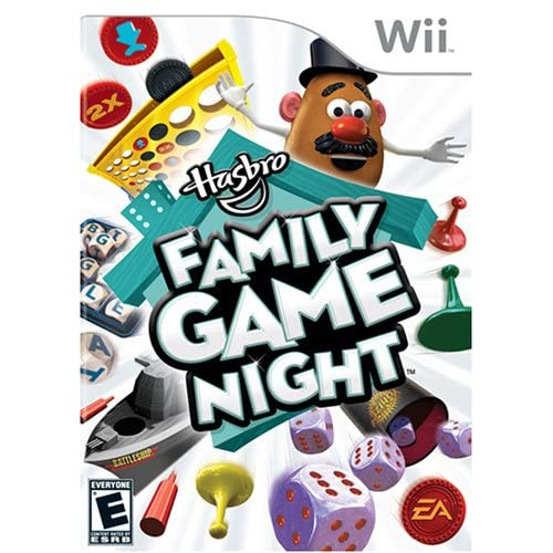 Image 0 of Hasbro Family Game Night For Wii Board Games