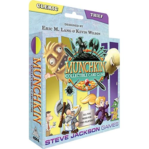 Image 0 of Steve Jackson Games Munchkin Ccg: Cleric And Thief Starter TCG