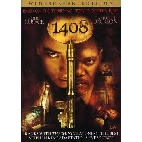 1408 Widescreen Edition On DVD With John Cusack Horror