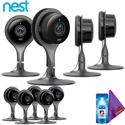 Image 0 of Nest Cam Indoor Security Camera Pack Of 9 Full HD Video