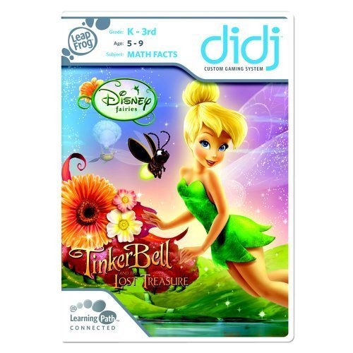 Image 0 of Leapfrog Didj Custom Learning Game: Tinker Bell And The Lost Treasure For Leap F