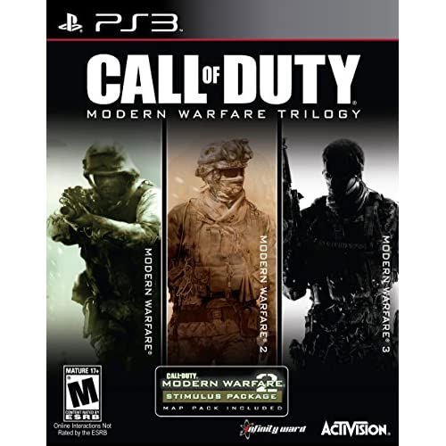 Call Of Duty Modern Warfare Collection For PlayStation 3 PS3