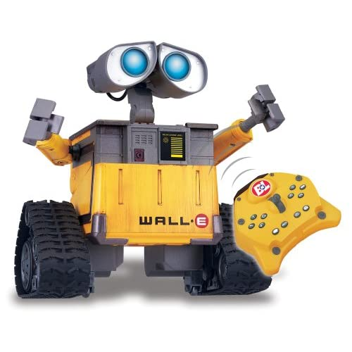 Image 0 of Disney Pixar's Wall-E U-Command Remote Control Robot Toy Yellow