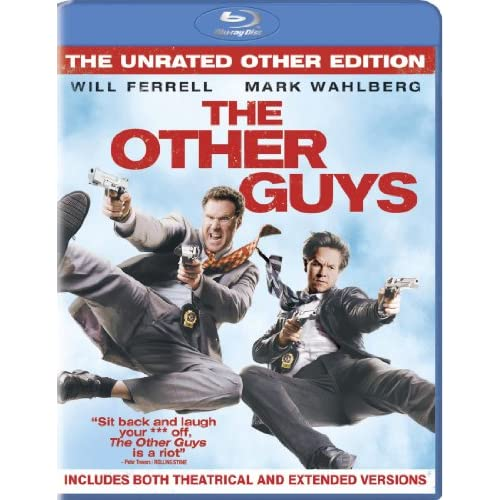 Image 0 of The Other Guys The Unrated Other Edition Blu-Ray On Blu-Ray With Will Ferrell Co