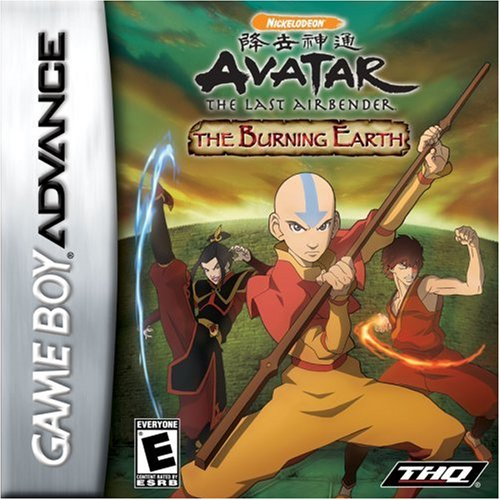 Avatar: The Burning Earth For GBA Gameboy Advance