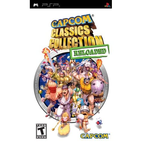Image 0 of Capcom Classics Collection Reloaded Sony For PSP UMD Arcade