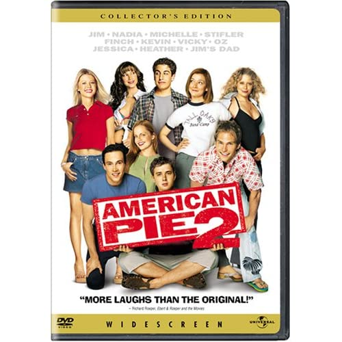 Image 0 of American Pie 2 Widescreen Edition On DVD with Jason Biggs