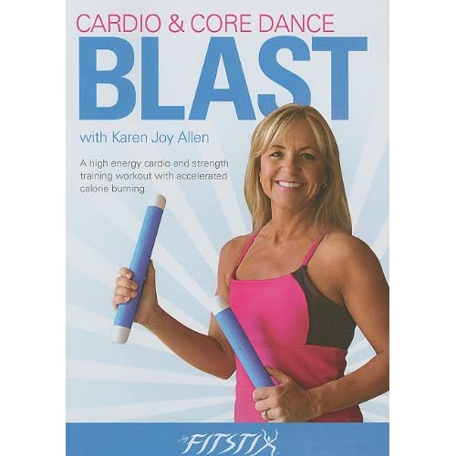 Image 0 of Fitstix Fitness/Cardio & Core Dance Blast On DVD Exercise